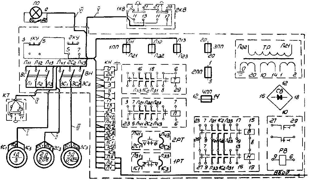 1и611п монтажная электросхема