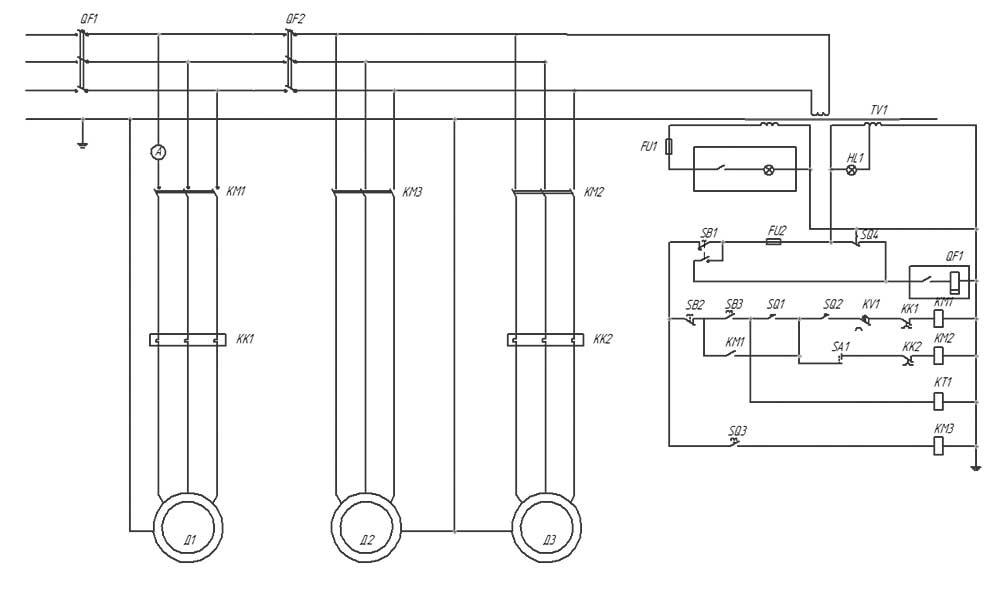 1к62 схема электрическая
